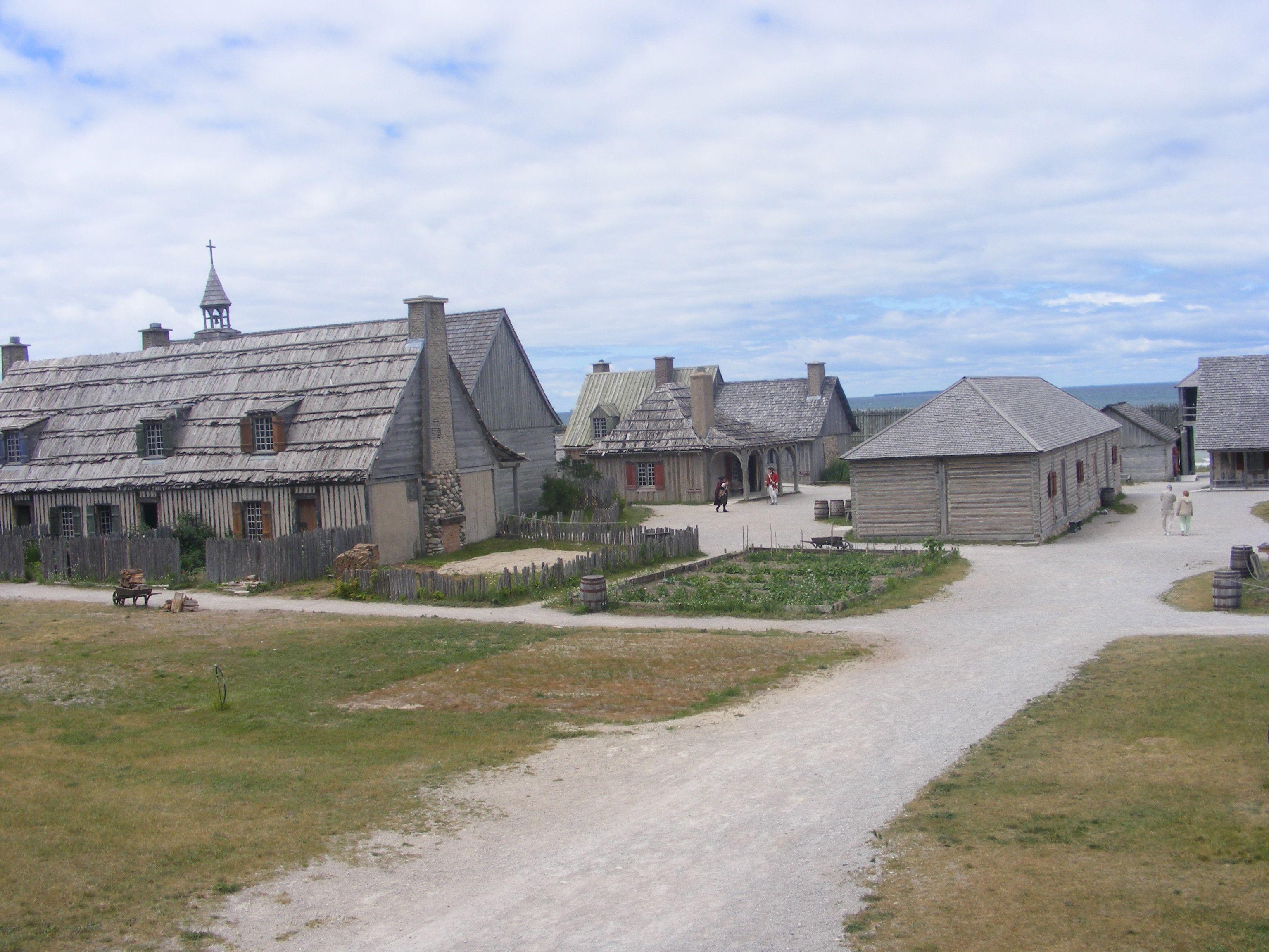 Fort Michilimackinac State Park In Mackinaw City Mi