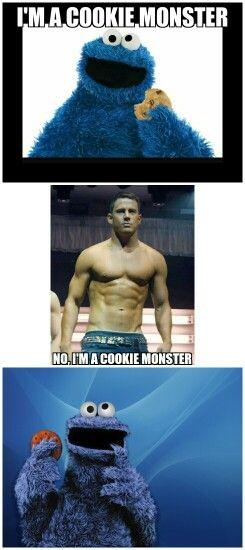Magic Mike Meme : magic, Magic, Cookie, Monster, Meme,