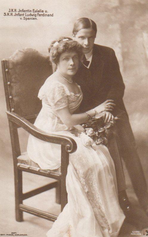 Infantin Eulalia von Spanien und Sohn Prinz Ludwig Ferdinand von Bayern | Flickr - Photo Sharing!