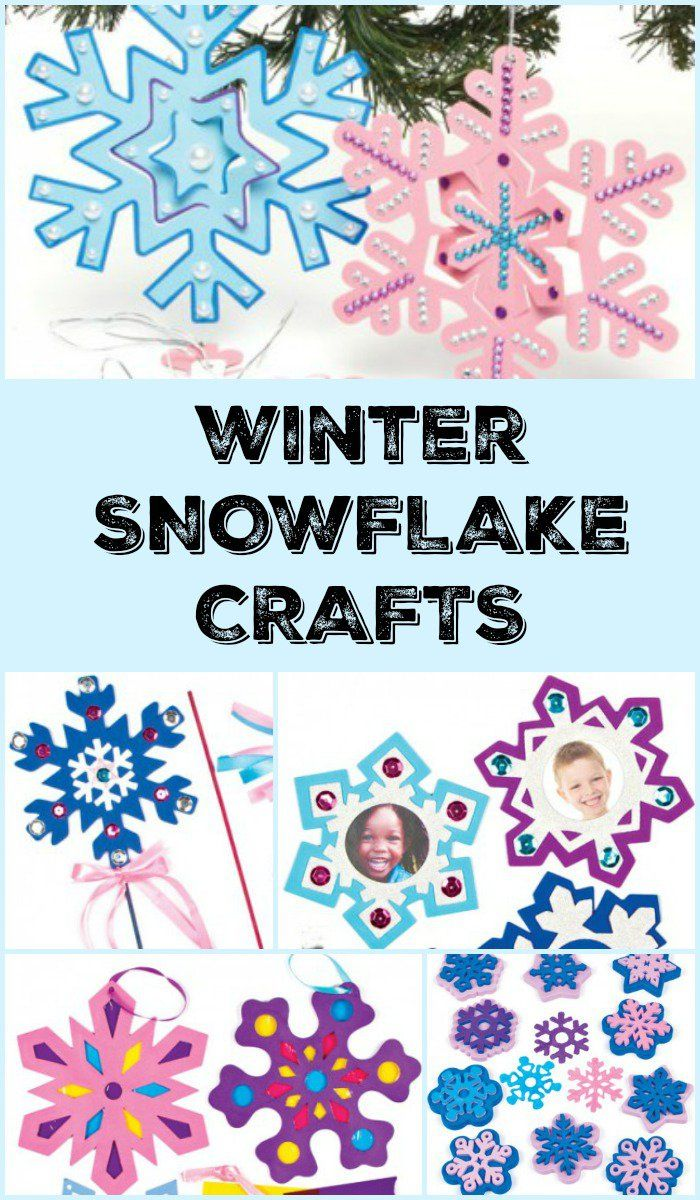 With snowflakes everywhere, why not bring even more into your house this Christmas Break! Fun Snowflake crafts for ever age!