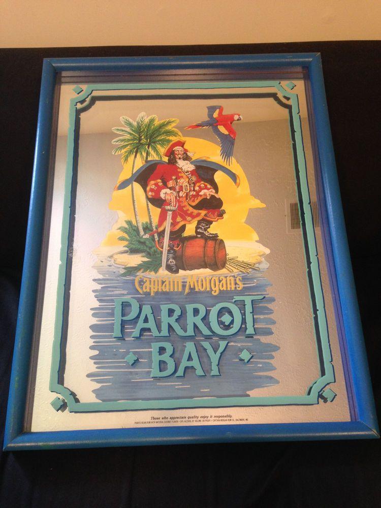 Captain Morgan Parrot Bay Shadow Box 19 Quot X 25 Quot Tropical
