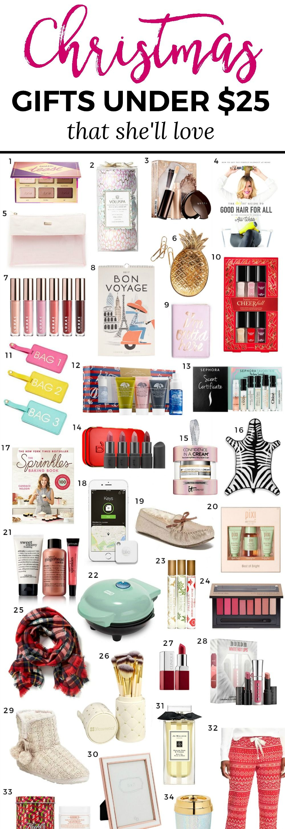 Xmas Gifts For Her Part - 42: The Ultimate Christmas Gift Guide Including The Best Christmas Gift Ideas  For Women Under $25!