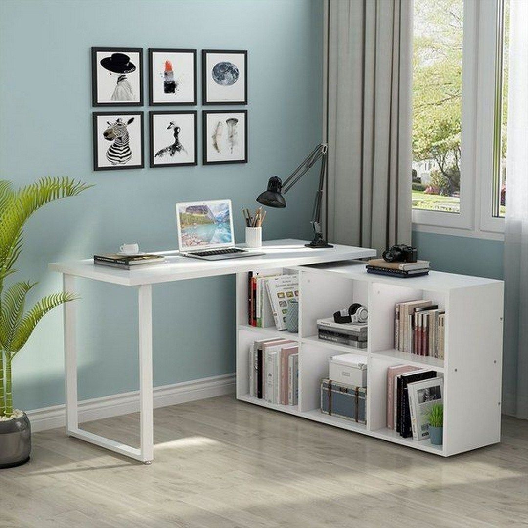 21 Bedroom Desk With Storage Apartementdecor Com In 2020 Home Office Design Desk In Living Room Cheap Office Furniture