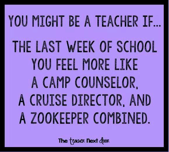 End of School Year Humor