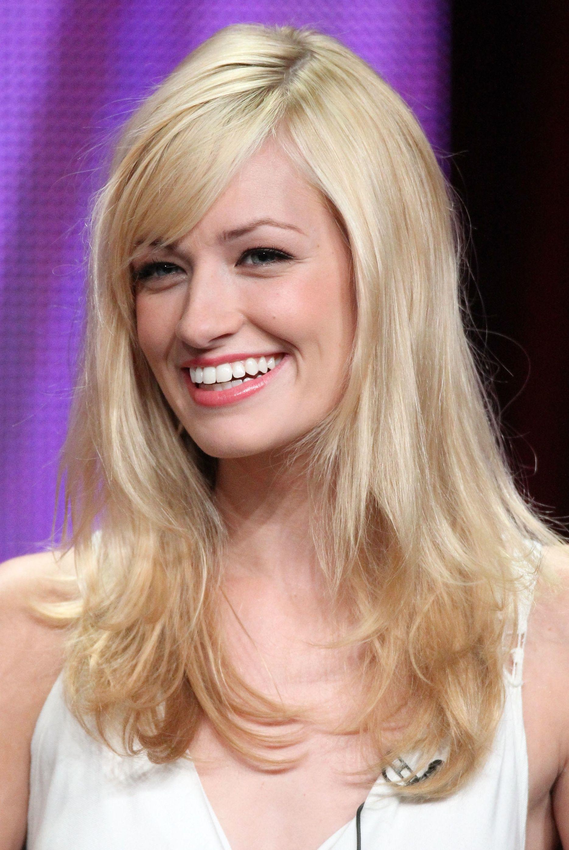 20 photos of side-swept bang hairstyles | blonde hair bangs, hair
