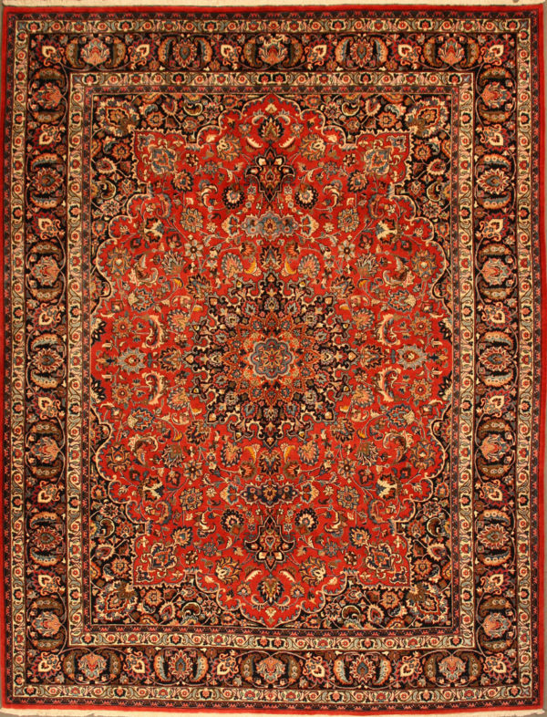 Mashad 9 10 X 12 9 Catalina Rug In 2020 Persian Carpet Antique Persian Carpet Rugs