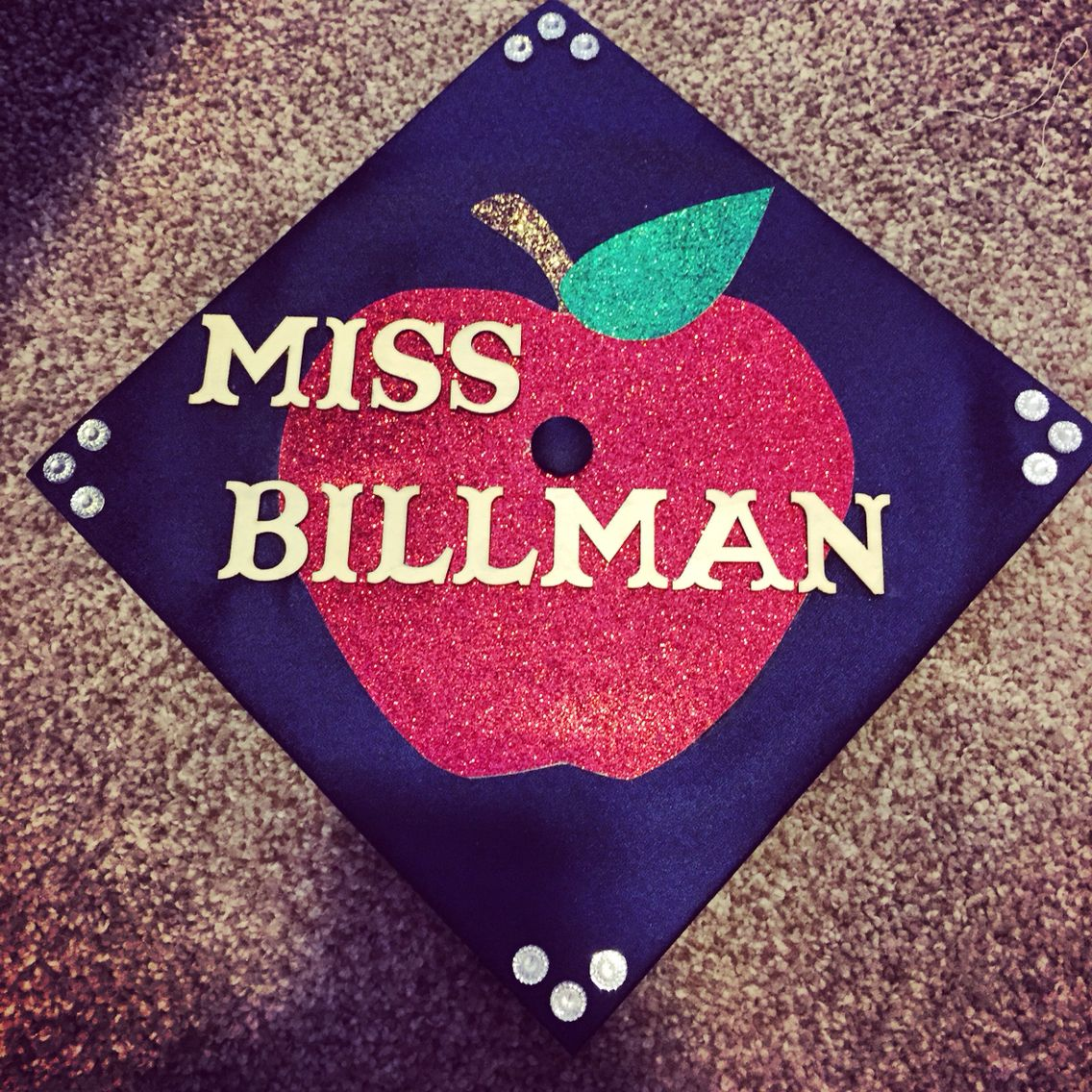 Decorating graduation cap ideas for teachers - Graduation Cap For Teacher