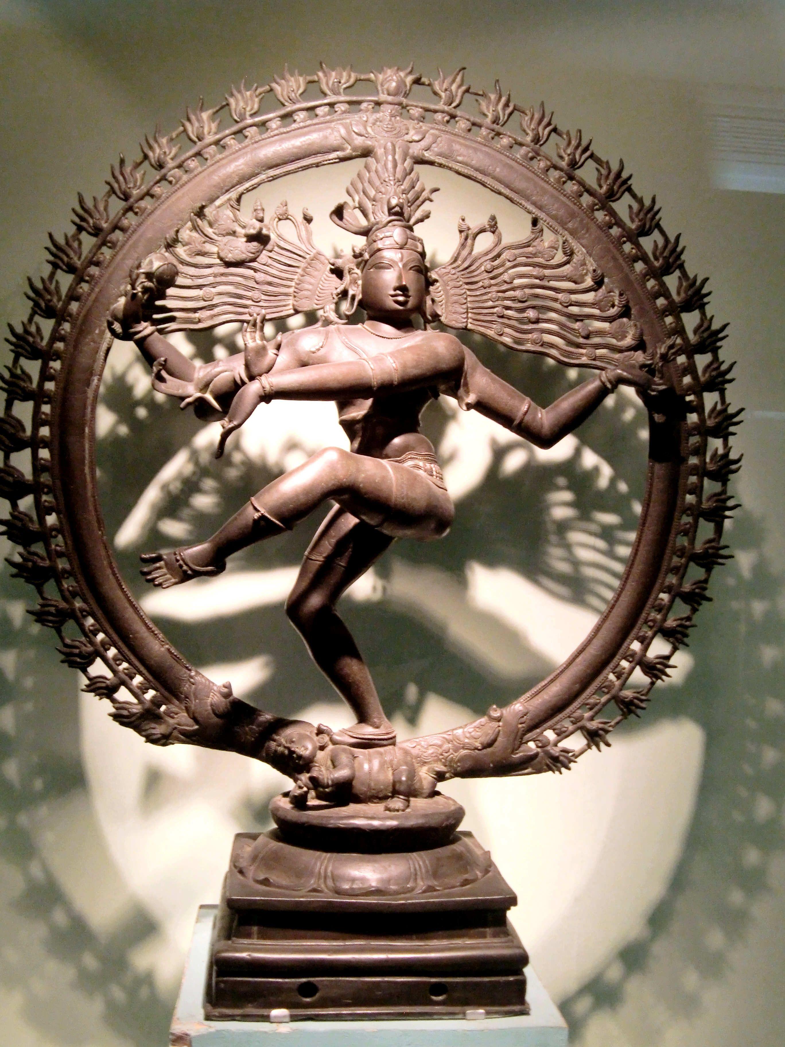 Bronze statue of nataraja at the metropolitan museum of