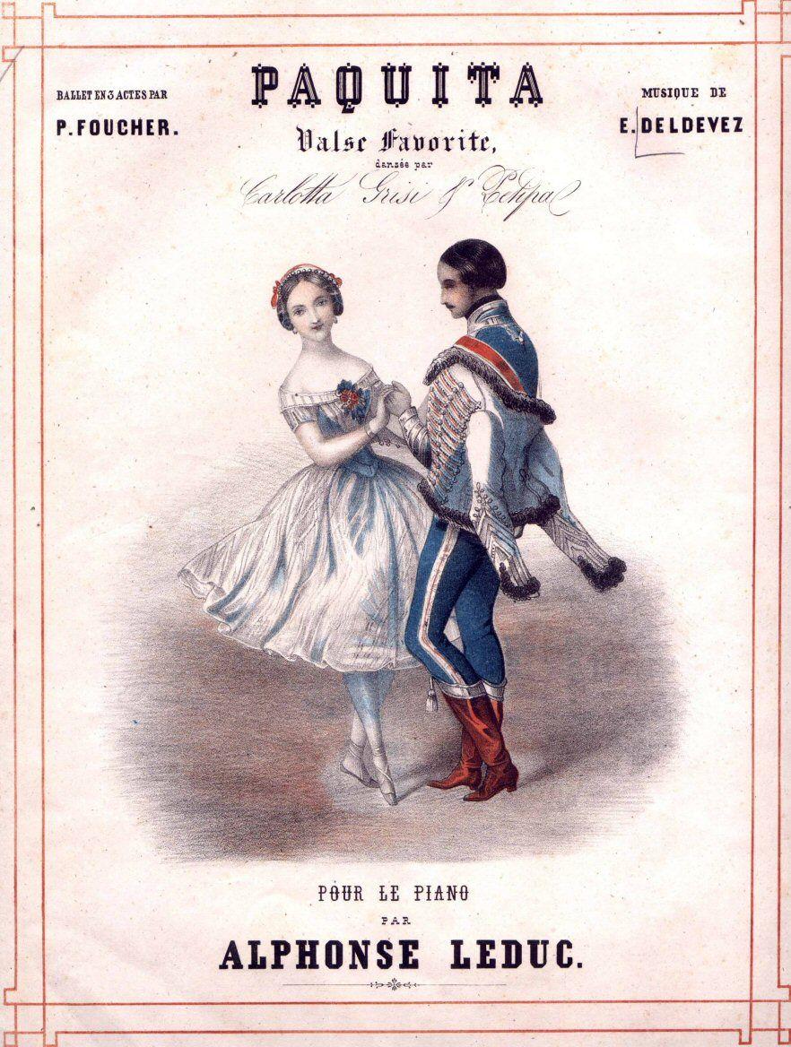 Alphonse Leduc.  Paquita, 1846.