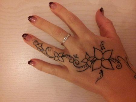Side Of Hand Tattoos For Women Designs Google Search Side Hand
