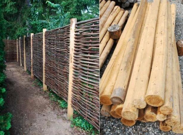 Hazelwood Hurdle Fence Panel Backyard Fences Fence