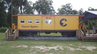 Railroad cars to stay in! Folkston, GA