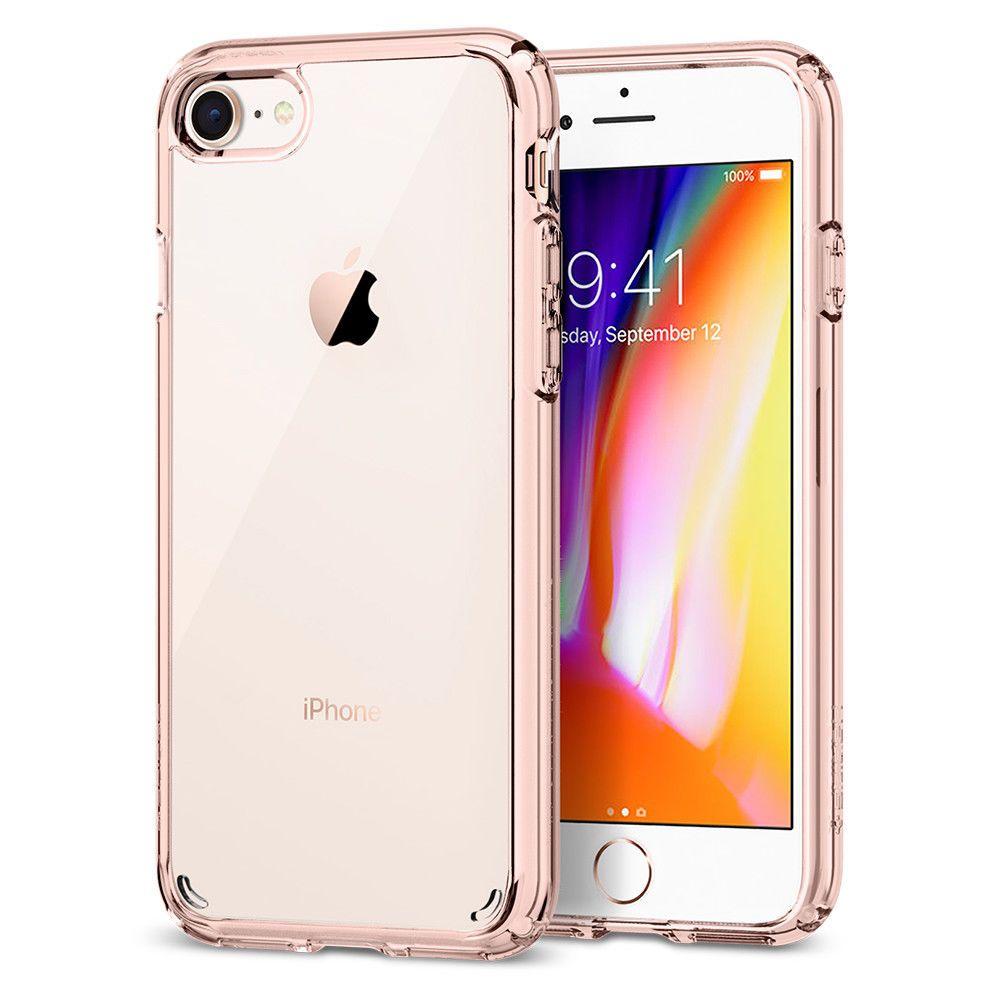 iPhone 8/7, 8 Plus/7 Plus Case Spigen® [Ultra Hybrid 2] Protective ...