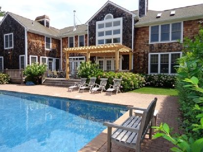 Town & Country Real Estate - Water Mill #TownandCountry ... Porch Pool House Designs Html on pool house cabana designs, patio covered porch designs, pool house bathroom designs, pool house kitchen designs,
