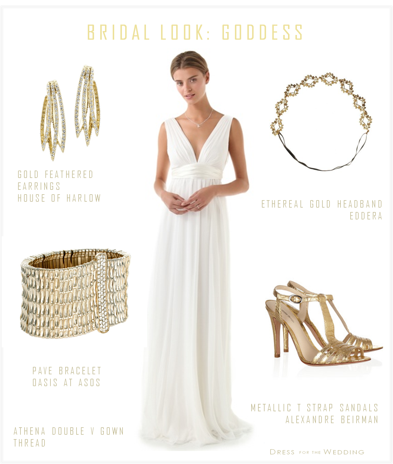 The dress goddess - A Greek Goddess Wedding Dress As Soon As I Saw This Athena Double V Wedding