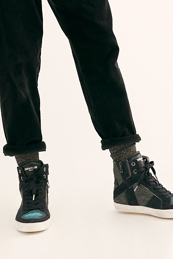 Zadig & Voltaire High Flash Sneakers