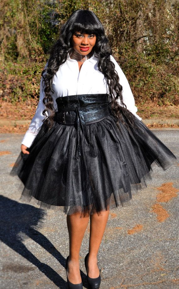 7d5ca49f25c1c Plus Size Tutu Skirt by SpoiledDiva on Etsy