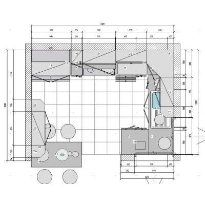 DISEÑO DE COCINAS EN 3D + FOTOREALISMO + PLANOS: diseño de cocina 3D ...