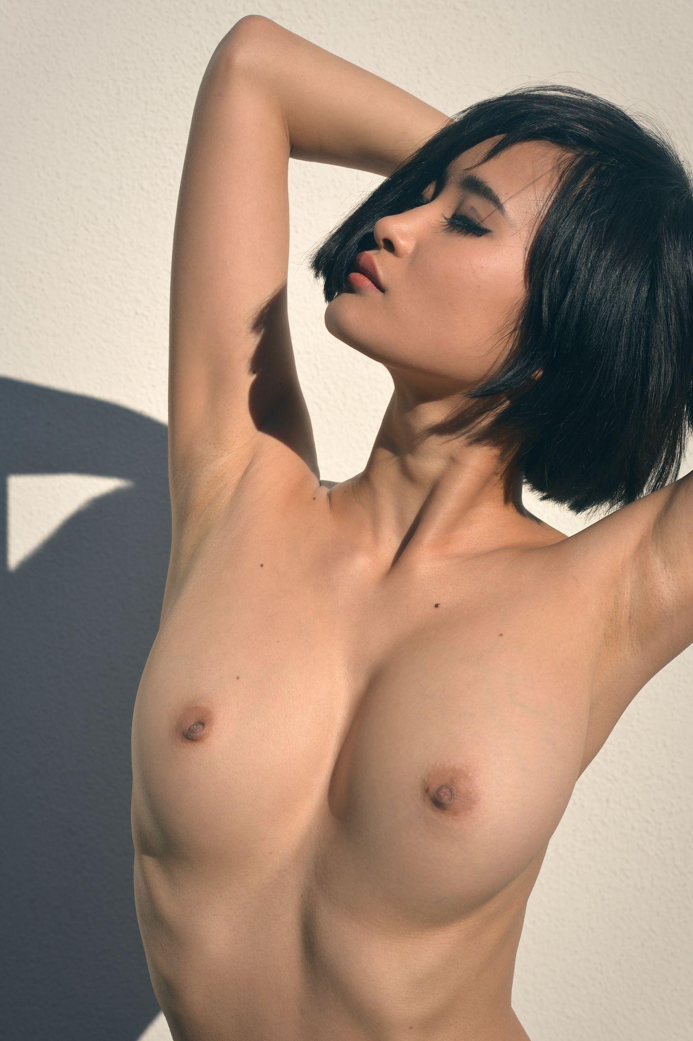 Short hair asian women with naked breast xpost rjapanpornstars