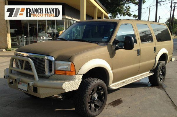 Rhino Liner Colors >> Rhino Liner Paint Job Ford Excursion Tactical Truck Cool