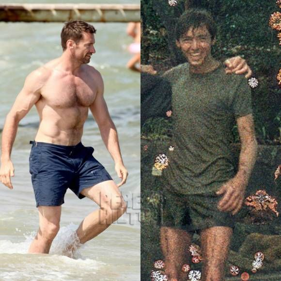 hugh jackman hasnt always been a huge jacked man check