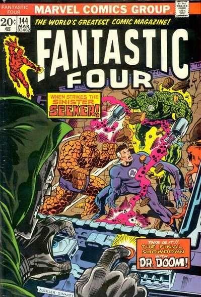 Fantastic Four # 144 by Rich Buckler & Joe Sinnott