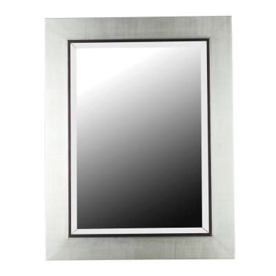38 in. x 30 in. Dolores Rectangle Framed Wall Mirror (Home Depot ...
