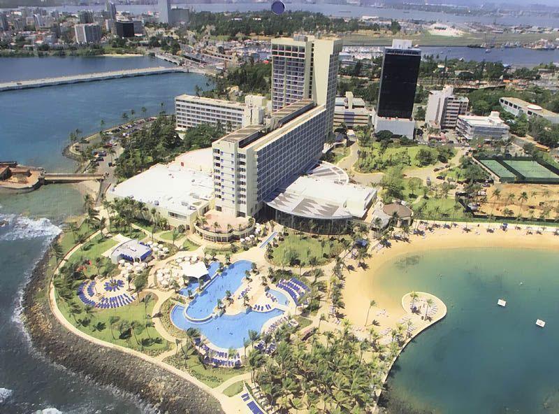 Puerto Rico Caribe Hilton Hotel I Can See My Pa S Apartment
