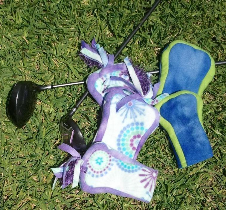 97267594299c2b Fleece Golf Club Covers to Sew | Craftsy | Golf | Golf club covers ...