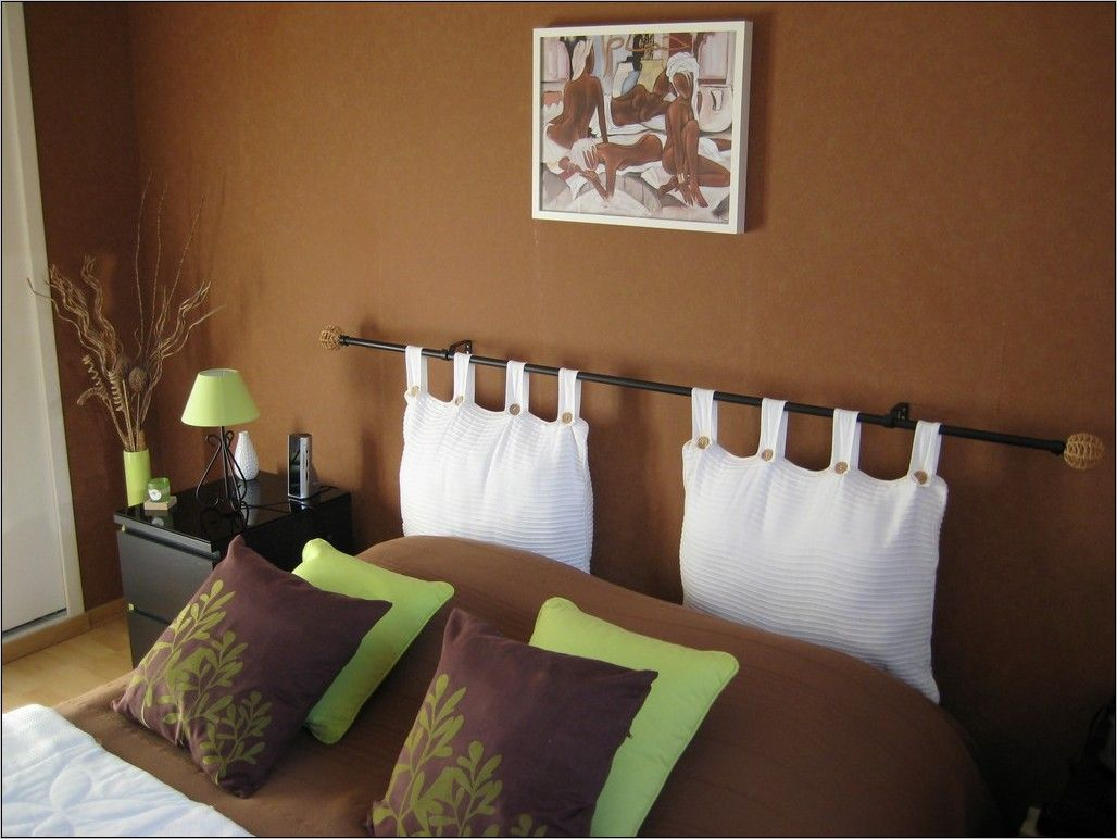 Deco Chambre Marron Et Orange In 2020 Home Decor Home Bed