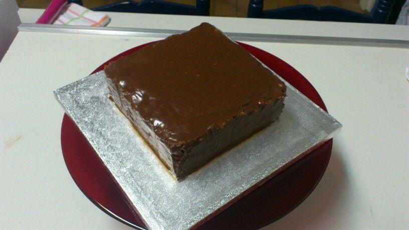Tarta de galletas y chocolate #tarta #tartagalletasychocolate #tartagalletas #chocolate #sevilla #sevillahoy @cakeandfun
