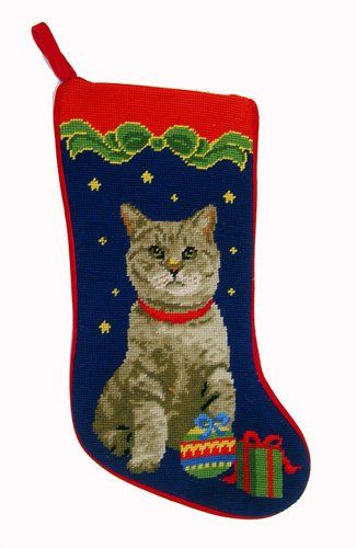 History Of Christmas Stockings.Amazon Price Tracking And History For Tabby Cat Christmas