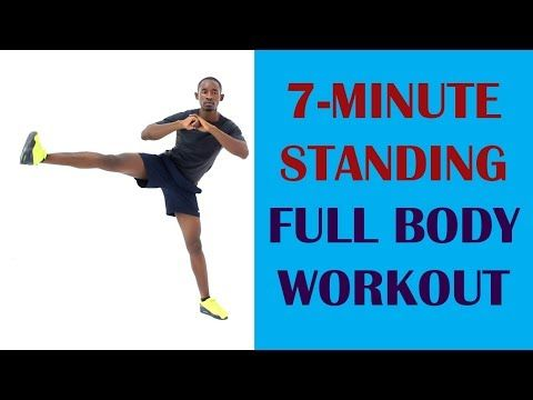 the 7minute standing full body workout for beginners