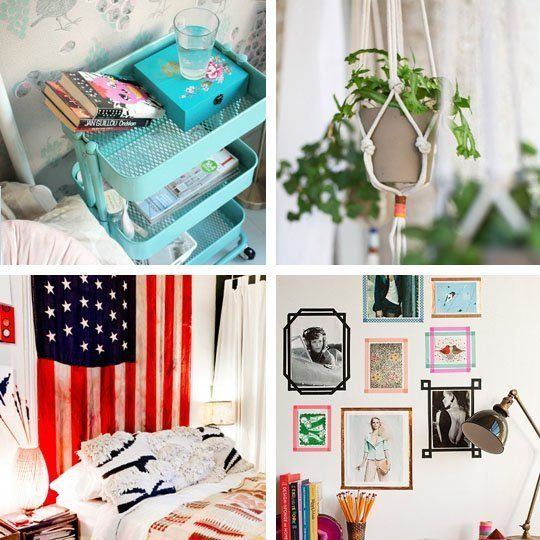25 creative diy ideas decorating tips for your dorm room - Diy Bedroom Decor Ideas