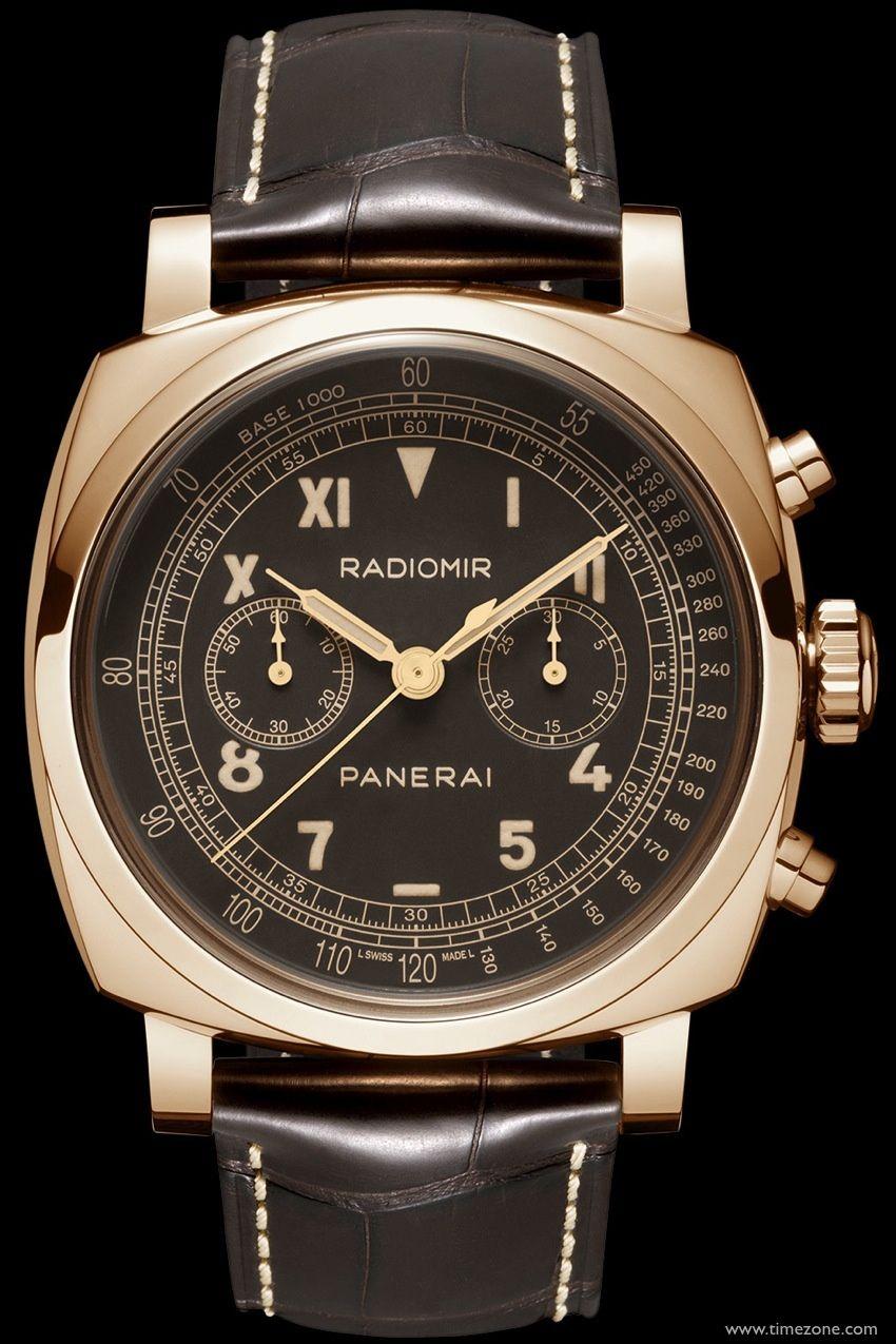 classic fit ad6e2 b9895 SIHH 2014 - Panerai Radiomir - 1940 Chronograph Red Gold ...