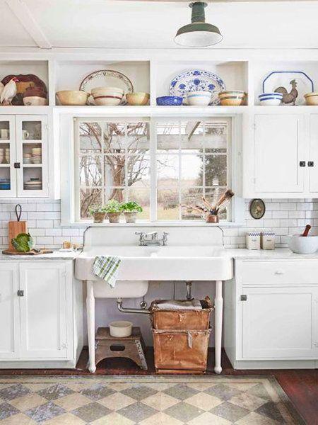 20 ideas para copiar de las cocinas vintage   Cocina vintage, Vistas ...