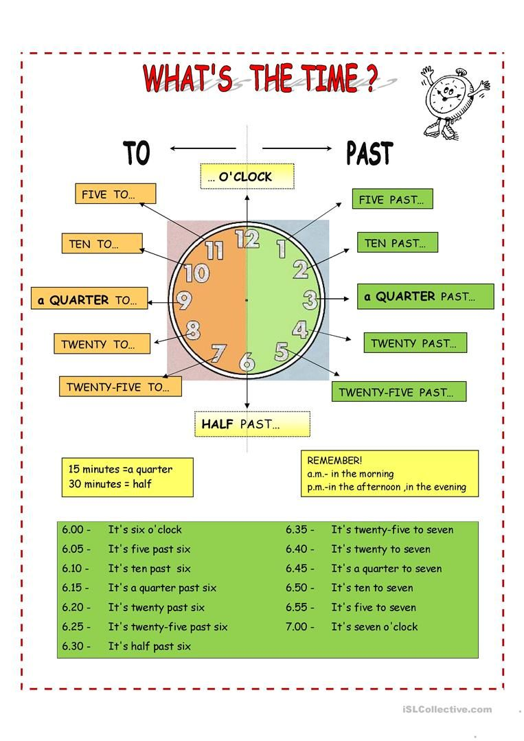 medium resolution of What's the time - English ESL Worksheets for distance learning and physical  classrooms   Time worksheets