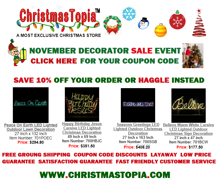 Online Christmas Store Christmastopia Com A Popular Resource For