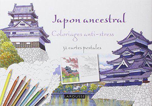 Japon Ancestral Coloriages Anti Stress Amazon De Tomohisa Monma Fremdsprachige Bucher Anti Stress Stress Bucher