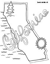 Cute State Coloring Pages Social Studies Teaching