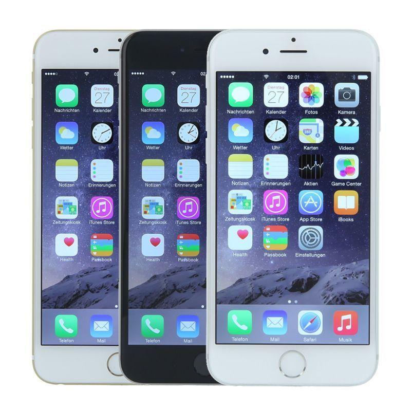 Apple iPhone 6 - 128GB - Handy ohne Vertrag - verschiedene Farben - Refurbished!
