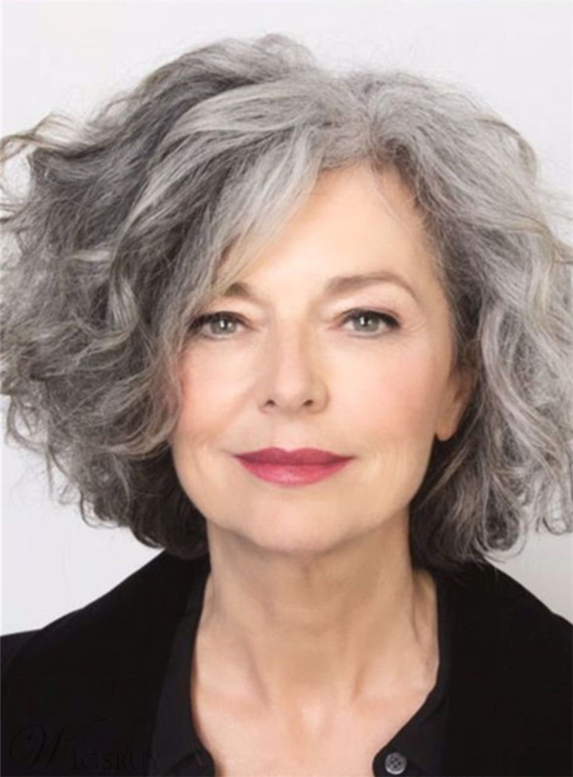 40 simple and beautiful hairstyles for older women | wigs