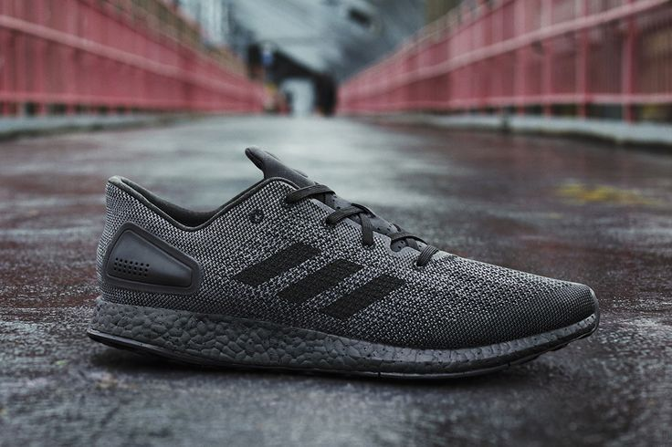 9ec2789adfc0b adidas PureBOOST DPR Goes Stealth in Triple Black - EU Kicks Sneaker  Magazine