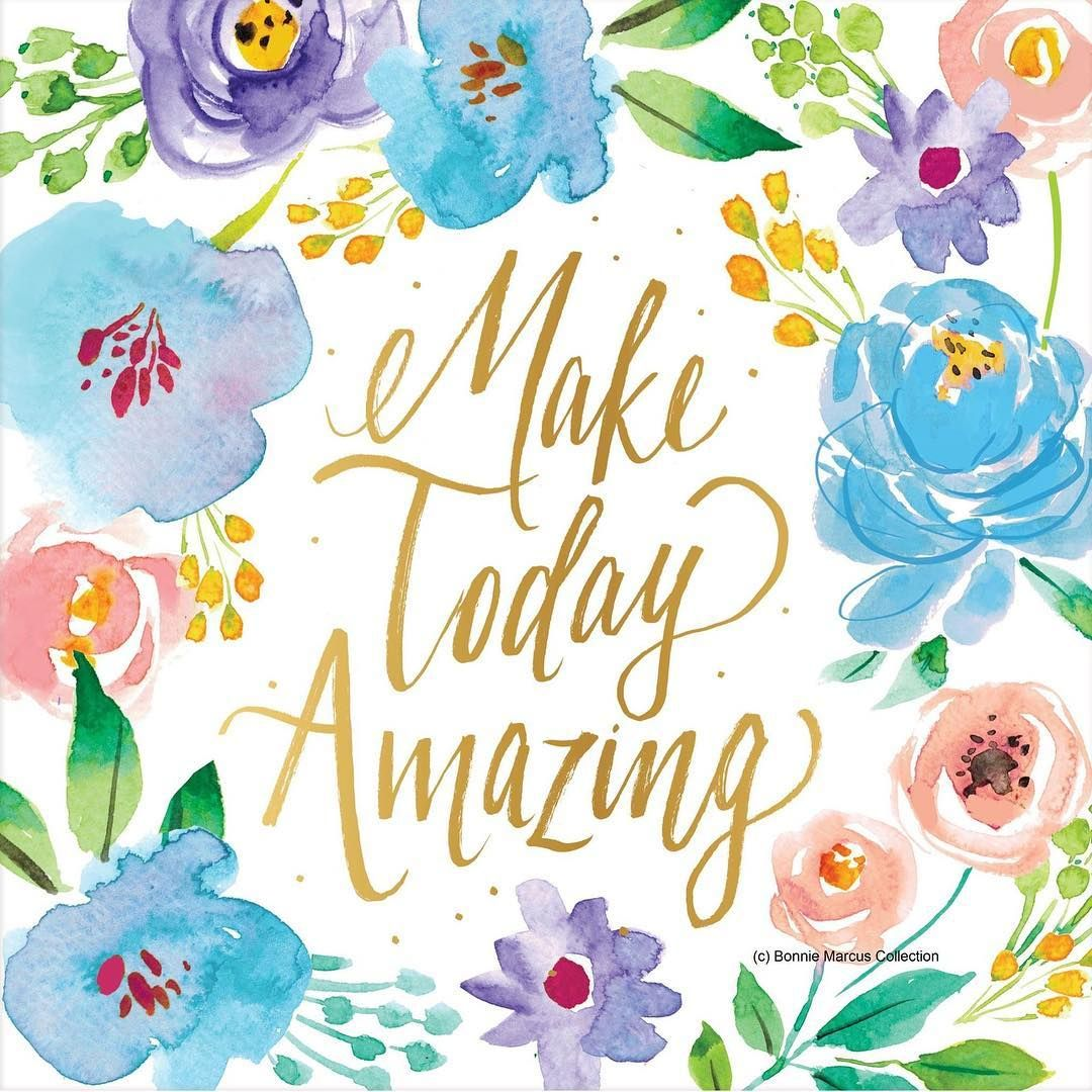 Happy Monday! #floral #painting #mondayfunday | Quotes & Sayings ...