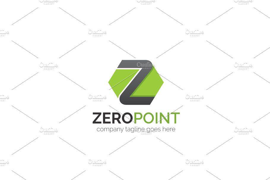 Zero Point Z Letter Logo Templates