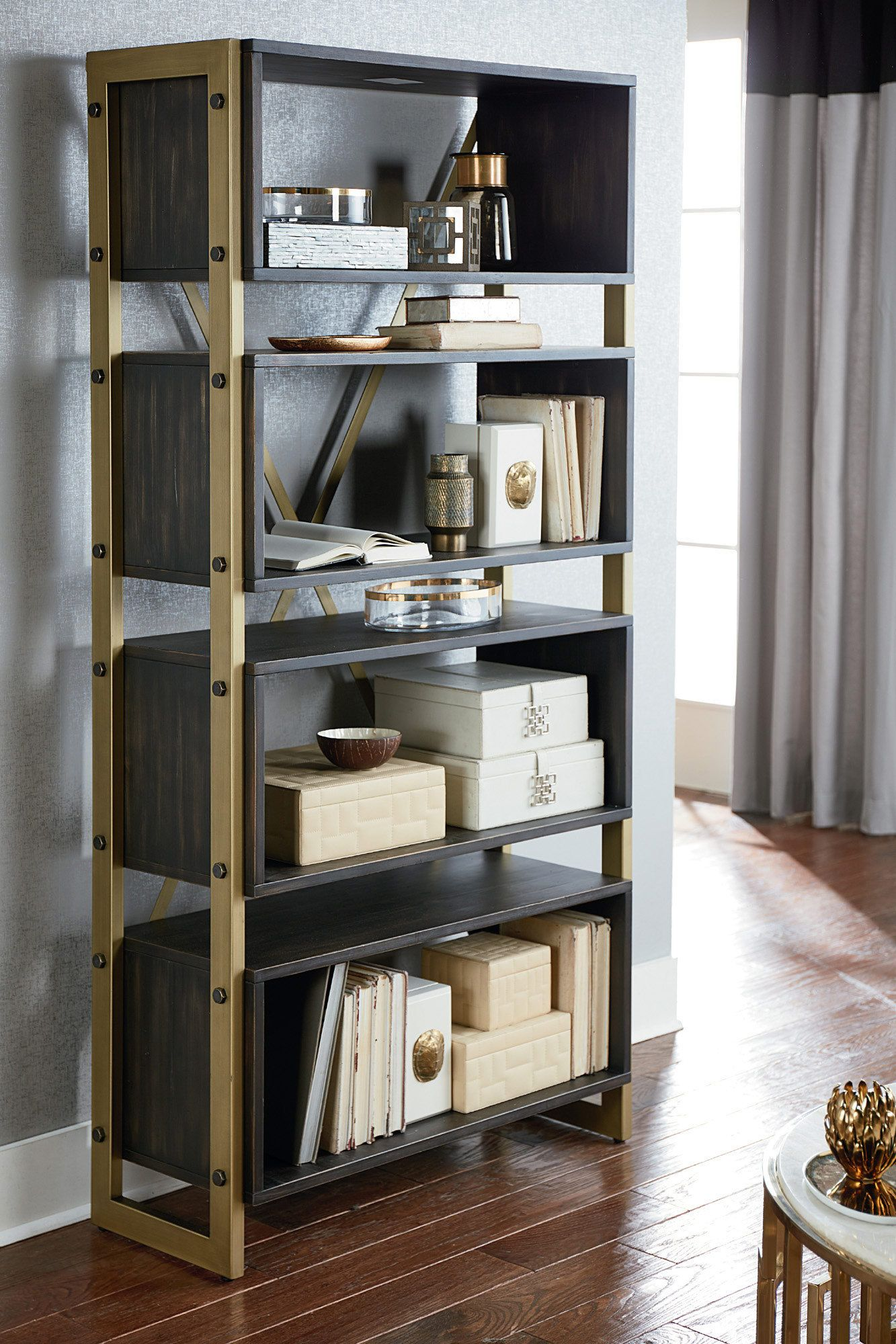 Superbe Hidden Treasures Bookcase In Bronze | Hammary Furniture | Home Gallery  Stores