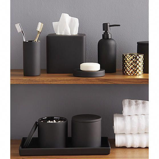 bathroom accessories rubber coated black bathroom accessories #BathroomAccessories