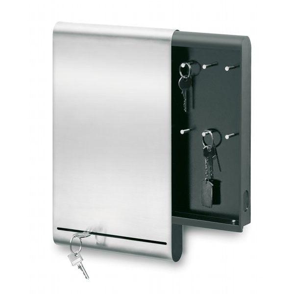 Porte Cle Mural Et Rangement Courrier Rangements Pour L Entree Thisga Armoire A Cles Boite A Cles Rangement