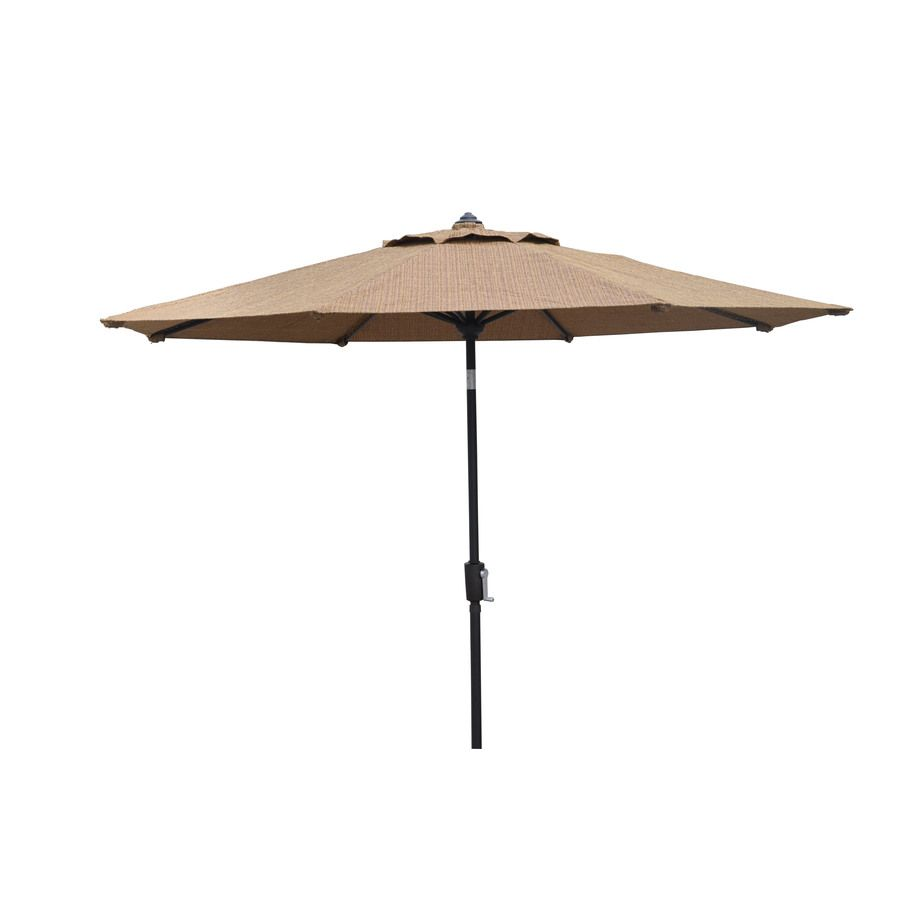 Shop Allen Roth Safford Safford Patio Umbrella At Lowes Com Patio Umbrella Patio Patio Umbrellas