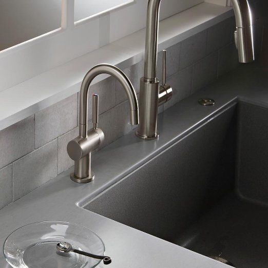 With A Technology Such As Insinkerator S Under Sink Instant Hot And Cold Water Dispenser It S Nev Filtered Water Dispenser Hot Water Dispensers Kitchen Faucet